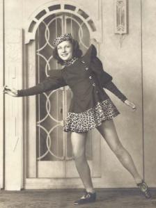 Gramma Irene the dancer